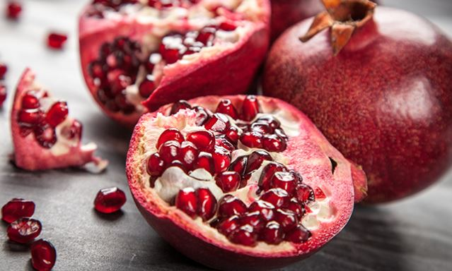 Best for smooth skin - Pomegranate.